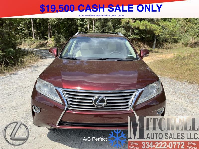 2013 Lexus RX 350 for sale at Mitchell Auto Sales LLC in Andalusia AL