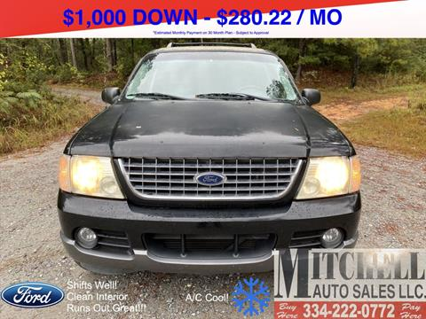 2005 Ford Explorer for sale at Mitchell Auto Sales LLC in Andalusia AL