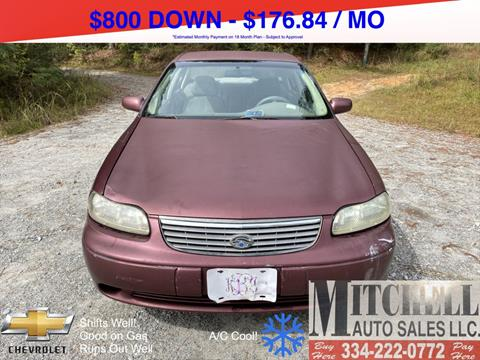 1998 Chevrolet Malibu for sale at Mitchell Auto Sales LLC in Andalusia AL