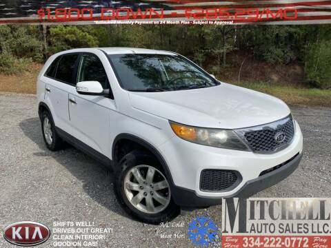 2011 Kia Sorento for sale at Mitchell Auto Sales LLC in Andalusia AL