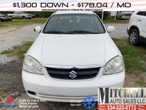 2008 Suzuki Forenza for sale at Mitchell Auto Sales LLC in Andalusia AL