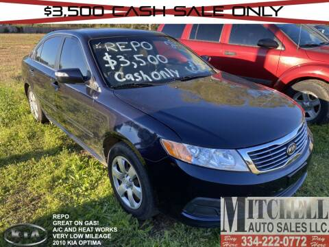 2010 Kia Optima for sale at Mitchell Auto Sales LLC in Andalusia AL