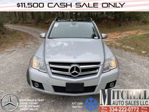 2012 Mercedes-Benz GLK for sale at Mitchell Auto Sales LLC in Andalusia AL