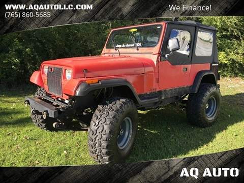 1990 Jeep Wrangler for sale in Marion, IN