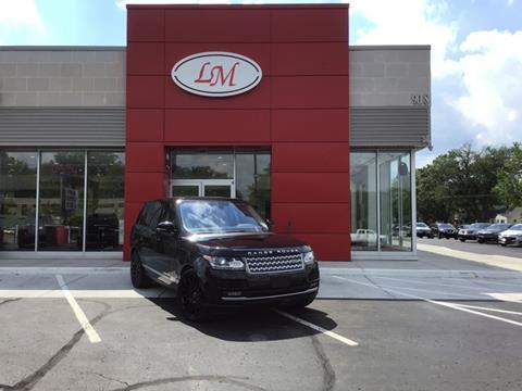 2016 Land Rover Range Rover for sale in Waterford, MI