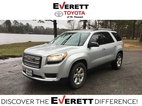 2015 GMC Acadia for sale in Mount Pleasant, TX