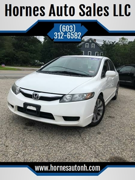 2010 Honda Civic for sale at Hornes Auto Sales LLC in Epping NH