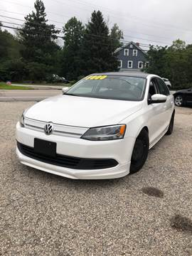 2014 Volkswagen Jetta for sale at Hornes Auto Sales LLC in Epping NH