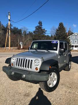 2008 Jeep Wrangler Unlimited for sale in Epping, NH
