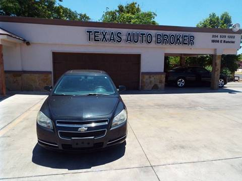 2009 Chevrolet Malibu for sale at Texas Auto Broker in Killeen TX