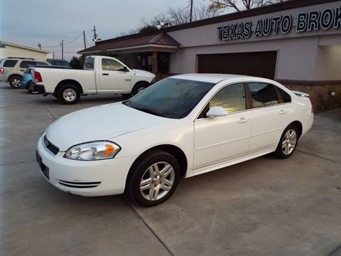 2013 Chevrolet Impala for sale at Texas Auto Broker in Killeen TX