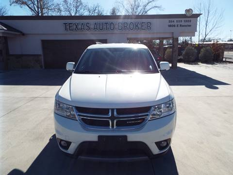 2013 Dodge Journey for sale at Texas Auto Broker in Killeen TX