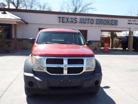 2007 Dodge Nitro for sale at Texas Auto Broker in Killeen TX