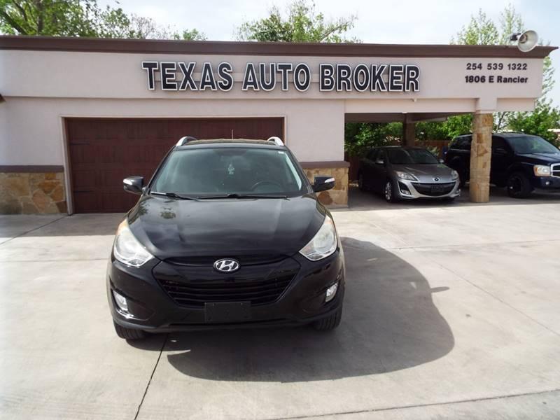 2013 Hyundai Tucson for sale at Texas Auto Broker in Killeen TX