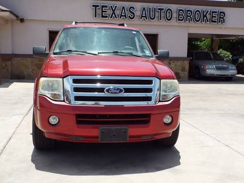 2008 Ford Expedition for sale at Texas Auto Broker in Killeen TX