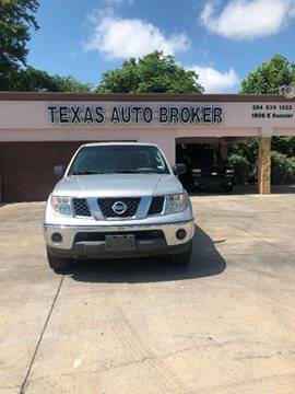 2008 Nissan Frontier for sale at Texas Auto Broker in Killeen TX