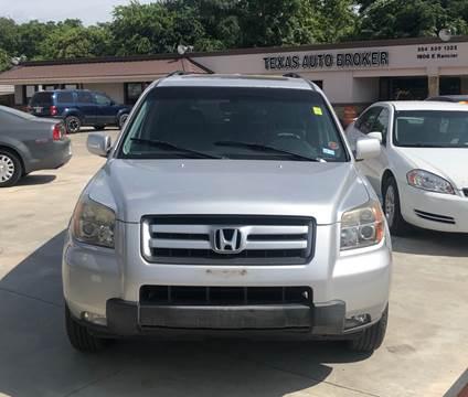 2007 Honda Pilot for sale at Texas Auto Broker in Killeen TX