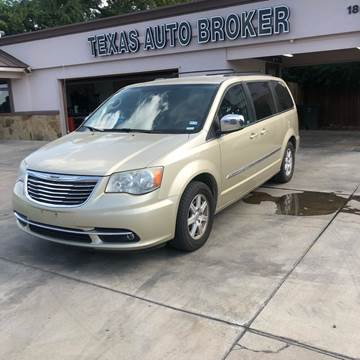 2011 Chrysler Town and Country for sale in Killeen, TX