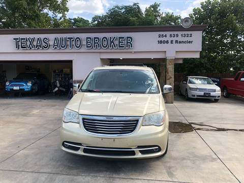 2011 Chrysler Town and Country for sale at Texas Auto Broker in Killeen TX