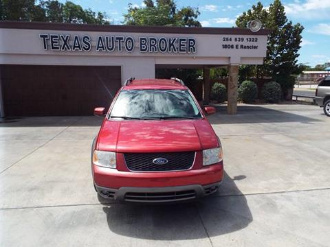 2006 Ford Freestyle for sale at Texas Auto Broker in Killeen TX