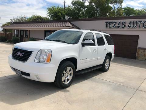 2009 GMC Yukon for sale at Texas Auto Broker in Killeen TX