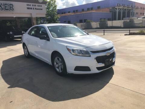 2014 Chevrolet Malibu for sale at Texas Auto Broker in Killeen TX