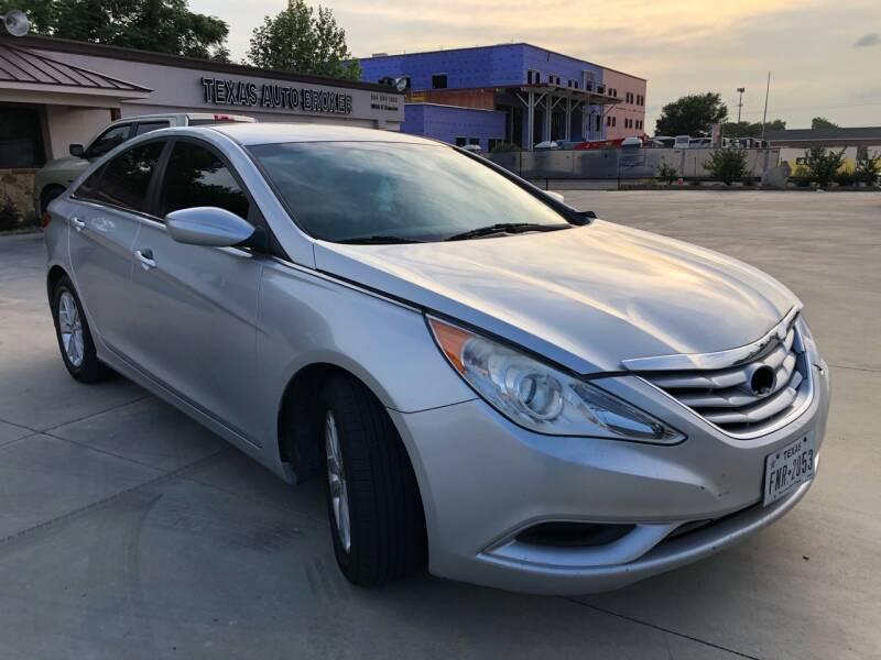 2013 Hyundai Sonata for sale at Texas Auto Broker in Killeen TX