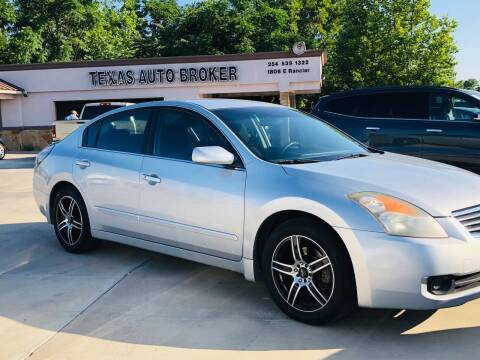 2007 Nissan Altima for sale at Texas Auto Broker in Killeen TX