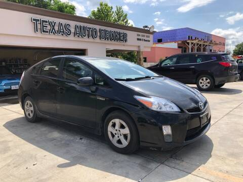 2010 Toyota Prius for sale at Texas Auto Broker in Killeen TX
