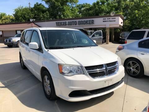 2012 Dodge Grand Caravan for sale at Texas Auto Broker in Killeen TX