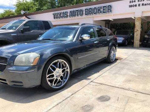 2007 Dodge Magnum for sale at Texas Auto Broker in Killeen TX