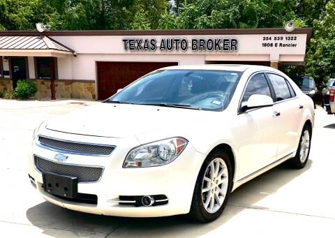 2011 Chevrolet Malibu for sale at Texas Auto Broker in Killeen TX