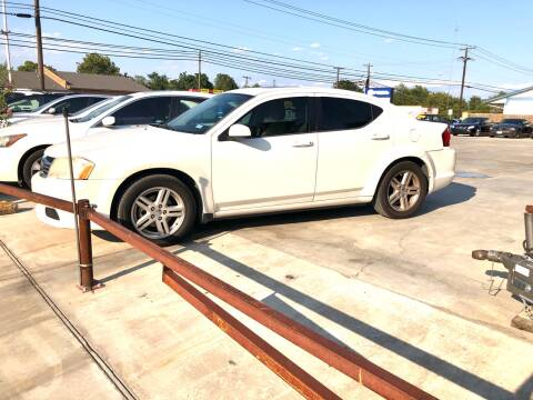 2011 Dodge Avenger for sale at Texas Auto Broker in Killeen TX