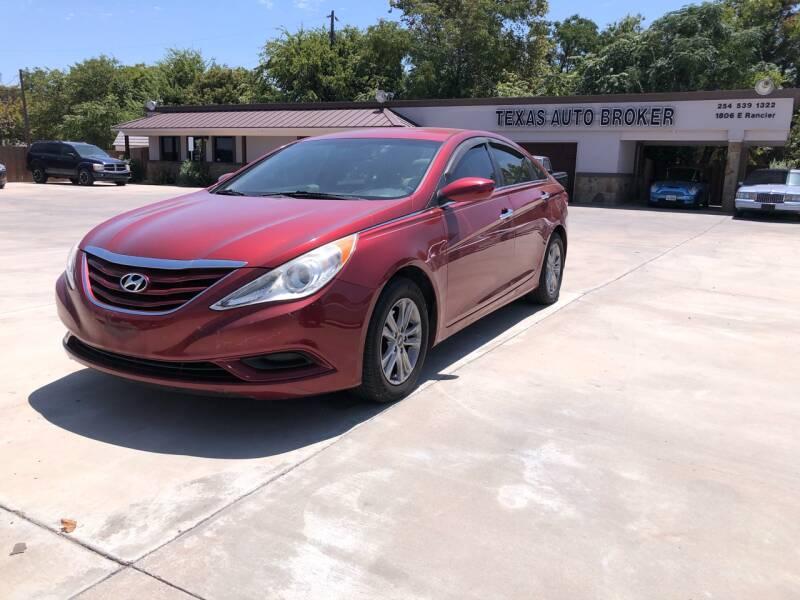 2012 Hyundai Sonata for sale at Texas Auto Broker in Killeen TX