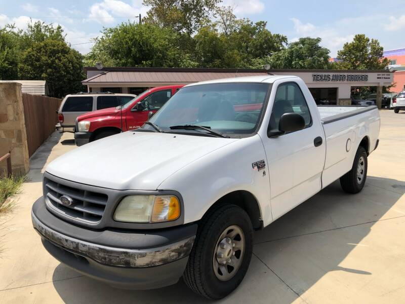 2001 Ford F-150 for sale at Texas Auto Broker in Killeen TX