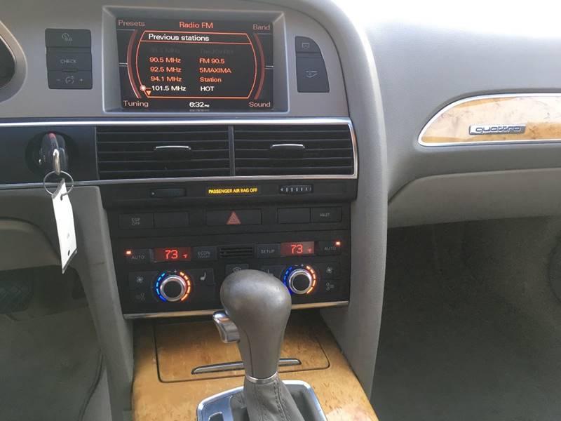 2007 Audi A6 AWD 3 2 quattro 4dr Sedan In Tampa FL - Cartina