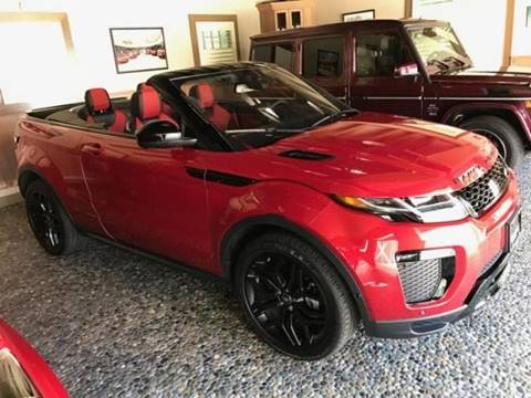 2017 Land Rover Range Rover Evoque Convertible for sale in Montpelier, VT