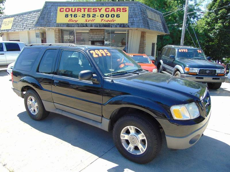 2003 Ford Explorer Sport for sale at Courtesy Cars in Independence MO