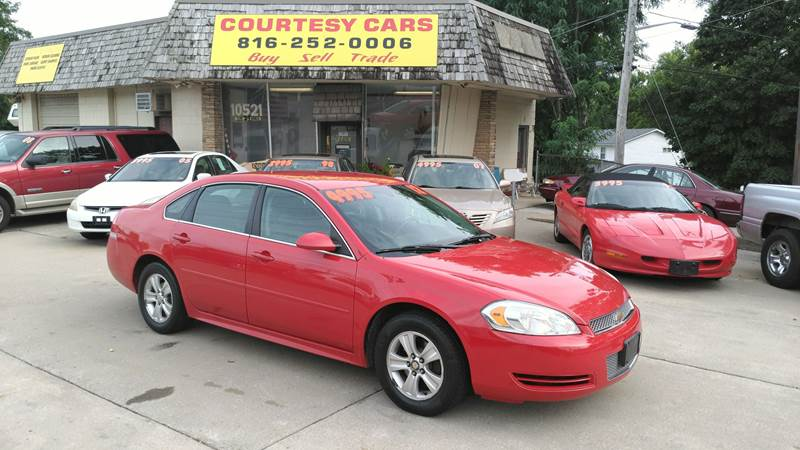 2012 Chevrolet Impala for sale at Courtesy Cars in Independence MO