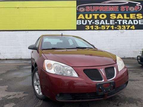 2009 Pontiac G6 for sale in Detroit, MI