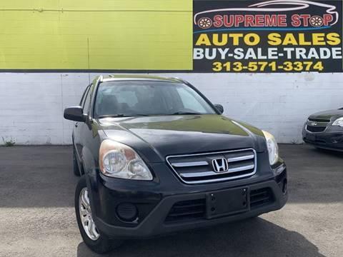 2006 Honda CR-V for sale in Detroit, MI