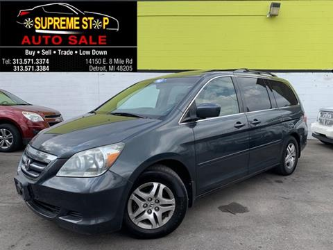 2006 Honda Odyssey for sale in Detroit, MI