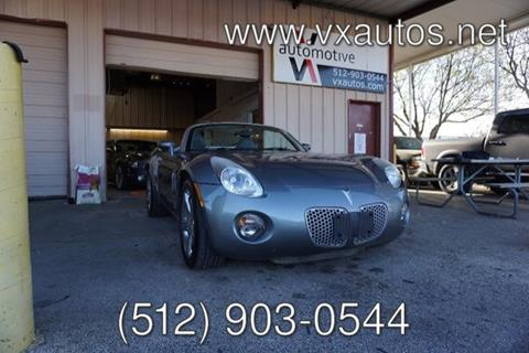 2006 Pontiac Solstice for sale in Round Rock, TX