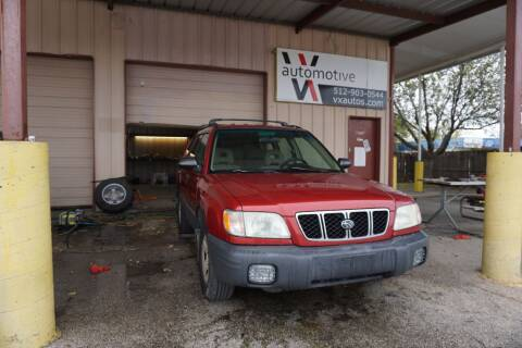 2002 Subaru Forester for sale in Round Rock, TX