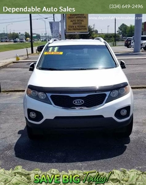 2011 Kia Sorento for sale at Dependable Auto Sales in Montgomery AL