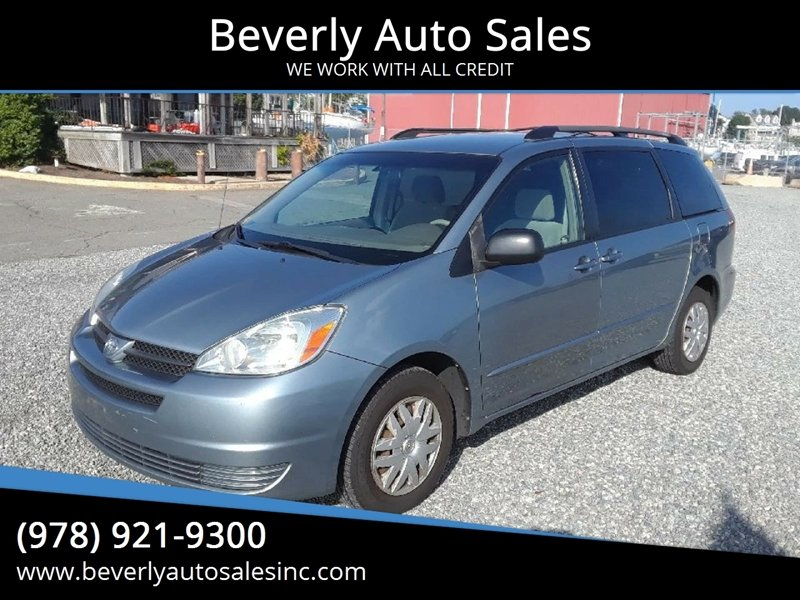 2004 Toyota Sienna For Sale At Beverly Auto Sales In Beverly MA