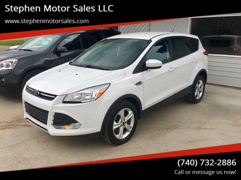 2015 Ford Escape for sale at Stephen Motor Sales LLC in Caldwell OH
