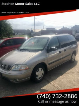 2003 Ford Windstar for sale at Stephen Motor Sales LLC in Caldwell OH