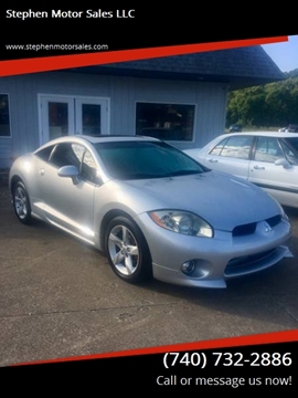 2007 Mitsubishi Eclipse for sale at Stephen Motor Sales LLC in Caldwell OH