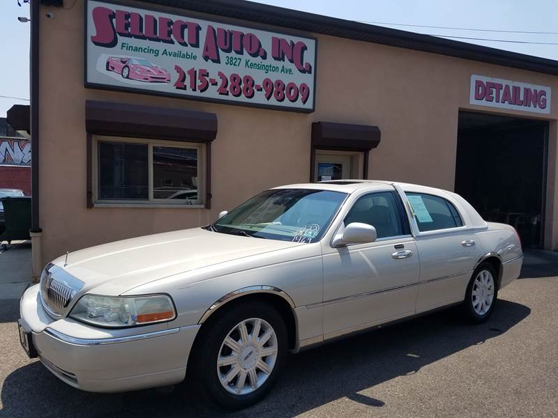 2003 Lincoln Town Car Cartier In Philadelphia Pa Sellect Auto Inc